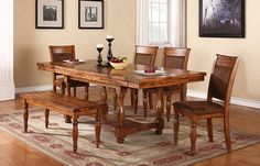 Change to a bigger dining room set by selecting one offered by At Home Furnishings in Gilbert, AZ.