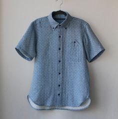Dot pattern shirts for men by Negitoros on Etsy