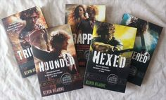 The Iron Druid Chronicles urban fantasy series by Kevin Hearne.