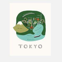 Tokyo Print   Rifle Paper Co.