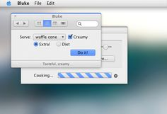 Check out this Mac Theme for Flavours: Bluke