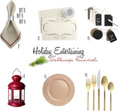 holiday entertaining, tablescape essentials