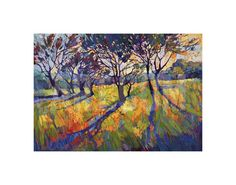 Crystal Light II Giclee Print by Erin Hanson at Art.com