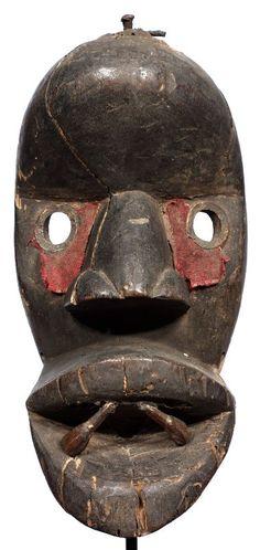 african dan masks