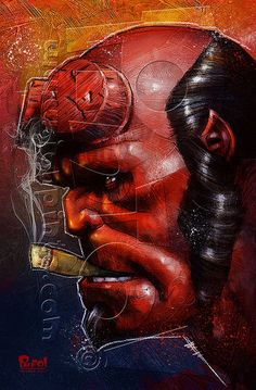 Hellboy by jonpinto.deviantart.com on @deviantART