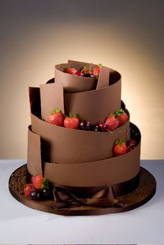 Deliciously Decadent Chocolate - Cake by Patricia - CakesDecor