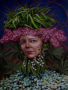 Oil on Panel. Original Painting Jennifer Knaus