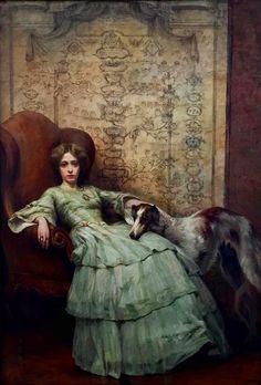 Giovanni Giani (1866 - 1937) Ultima foglia,1910