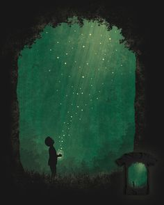Remember.........Fireflies  Visit The Great Smoky Mountains. Magic exists here.
