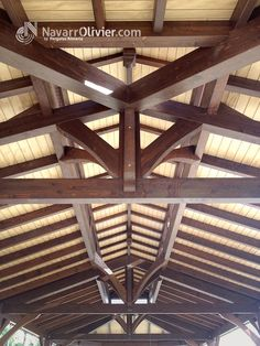 Estructuras on pinterest wood beamed ceilings historia - Estructura madera laminada ...