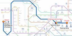 Ecco una guida utile per spostarti dall'aeroporto internazionale di Incheon verso la capitale Seoul.