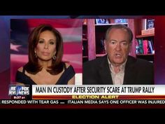 MIKE HUCKABEE FULL INTERVIEW WITH JUDGE JEANINE PIRRO 11-5-2016