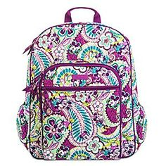 Disney Plums Up Mickey Campus Backpack by Vera Bradley   Disney StorePlums  Up Mickey Campus Backpack c6a175d3aa