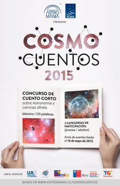 Concurso de Astronomía. ¡Crea un universo en 120 palabras!.  http://astromania.cl/?p=233568