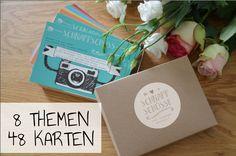 Hochzeitskarten - Postkarten für Hochzeit - Fotospiel - ein Designerstück von Fraeulein-Reineke bei DaWanda