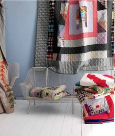 A.P.C. Quilts for Anthropologie