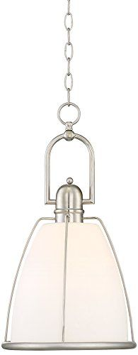 Possini Euro Eastlake 11 14W Brushed Nickel Mini Pendant >>> Amazon most trusted e-retailer #KitchenPendants Kitchen Pendants, Special Deals, Mini Pendant, Brushed Nickel, Flask, Euro, Amazon, Stuff To Buy, Amazons