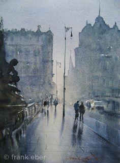 Frank Eber - Morning Fog, Prague, 2011