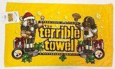 Pittsburgh Steelers Terrible Towel Christmas Holiday Nutcracker... Steelers Terrible Towel, Pittsburgh Steelers, Christmas Holidays, Amazon, Fictional Characters, American Football, Christmas Vacation, Amazons, Riding Habit