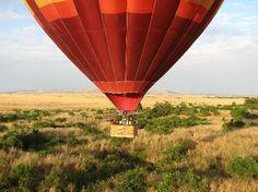 Hot Air Ballooning, Kenya