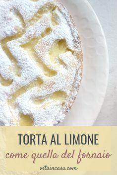 La torta al limone come quella del fornaio è smart perché bastano 3 uova per una torta a tre strati di tutto rispetto (torta al limone tipo Mulino Bianco). Dairy, Pie, Cheese, Desserts, Blog, Cream, Torte, Tailgate Desserts, Cake