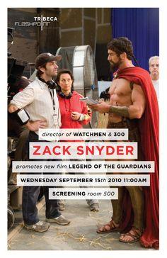 Zach Snyder (director of 300) visits TFA