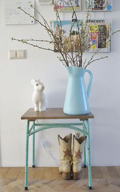 winter with a hint of spring by wood & wool stool, via Flickr