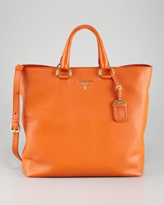 Daino Tote Bag by Prada at Neiman Marcus.