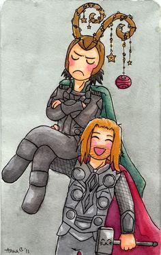 Loki doesn't do Christmas @Penn Foster #bemorefestive
