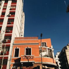 Friday 9:32 PM #photography #tumblr #city #oldcity #building #arquitecture #warmcolor #shadow #sky #indie #aesthetic #alternative #vintage #orange #blue #buenosaires #bsas #argentina  #photobyme