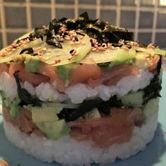 Sushi rice and the perfect Sushi Tower