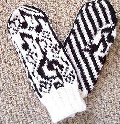 Love's Sweet Song pattern by Mona Bultena Mittens Pattern, Knit Mittens, Knitting Socks, Mitten Gloves, Knitted Hats, Knitting Projects, Knitting Patterns, C2c Crochet, Crochet Gloves