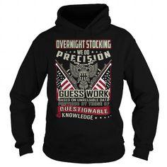 Overnight Stocking Job Title T Shirts, Hoodies, Sweatshirts