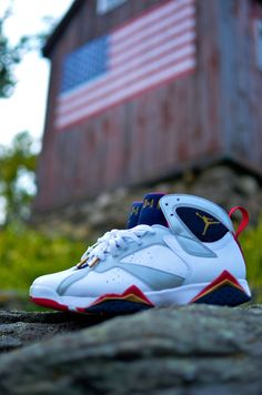 Air Jordan Olympic 7 s Kicks Shoes 6c40d0790c18e