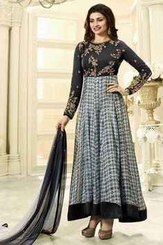 0be70d550c Buy designer black anarkali suits online shopping with lowest prices in  india. #thankaronline #