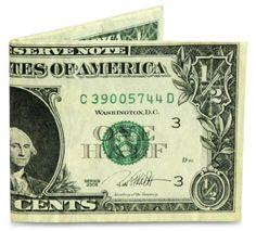 17.93$  Watch now - http://vinle.justgood.pw/vig/item.php?t=vf0ljz63386 - Fashion Wallet Dynomighty Mens Half Dollar Mighty Super Thin Lightweight Tyvek