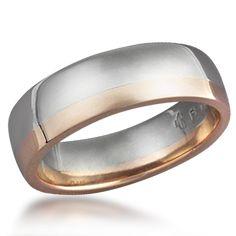 Trauringe hochzeit modern  Mens Wedding Rings,14K Two Tone Gold Wedding Rings,Womens Wedding ...