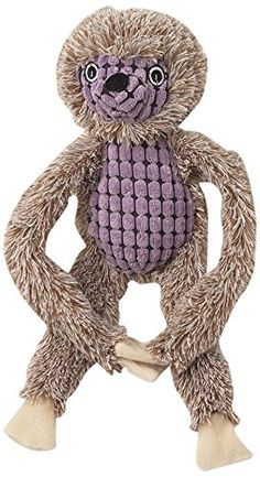 Pet Rageous Hangrageous Sid The Sloth 1 Dog Toy, Tan/Purple >>> You can get more details by clicking on the image. (This is an affiliate link and I receive a commission for the sales) Sloth Bear, Baby Sloth, Sloth Animal, Sid The Sloth, Baby Stuffed Animals, Pet Tiger, Pet Carriers, Pet Accessories, Animals For Kids