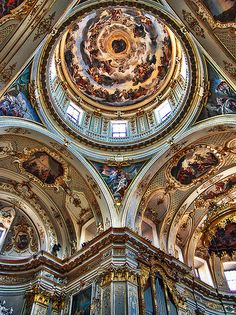 Cupola Cattedrale di Bergamo, Italy