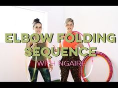 Elbow Folding Sequence Hoopdance with Ngaire - Learn How to Hula Hoop | Hula Hoop Dance Videos and Tutorials | HOOPLOVERS.TV