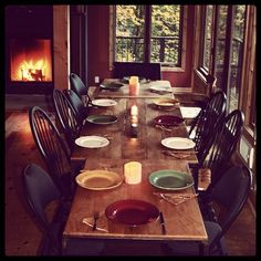 Thanksgiving table #PotentialistCanada