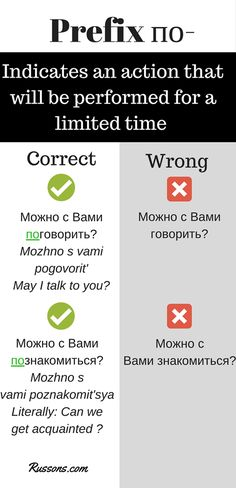 Speak Russian better then teachers of Russian. Here is how. I've noticed that some teachers of Russian who are not native Russians miss the prefix по- . This doesn't sound Russian. Это ломаный русский. Don't repeat their mistakes. Speak better!