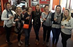 These lovely young ladies were very excited to be able to get away and be on tour with Cork 'n Fork Tours. I picked them up and they were all ready on time and we headed to our first stop for the day, where they were introduced to the art of wine tasting.  Some were repeat offenders, having been with me previously, some were new to our tours. The introduction to wine tasting was presented and the ladies were convinced to use this practice for each tasting during the rest of t