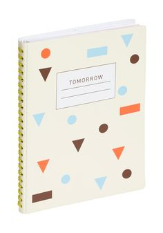 Waiting for Tomorrow Day Planner. Are you always a few steps ahead, thinking about tomorrow before it even arrives? #white #modcloth