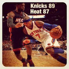 Knicks Beat the Heat