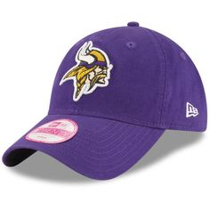 a76438adebe8f Women s New Era Purple Minnesota Vikings Team Glisten 9TWENTY Adjustable Hat