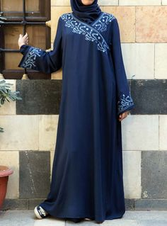 Embroidered Dress Prayer Set via www.shukronline.com #shukr