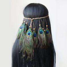 Tribal-Headband-Native-American-Feather-Headband-Hippie-Headband-Boho-Headband
