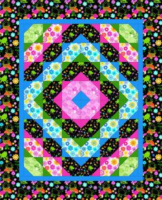 This is the quilt I am going to make Adaline ~ link to pattern is http://www.quiltsinmontana.com//images/classic_cotton/froggies/quilt-froggies-travel.pdf