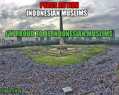 Peace Action Indonesian Muslims
